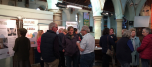 Hundreds of people come to Chapel Exhibition