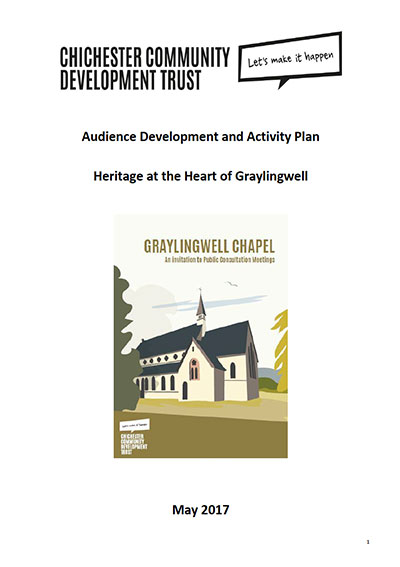 Activity Plan Graylingwell Chapel