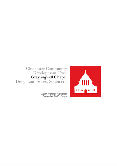 Graylingwell Chapel Design and Access