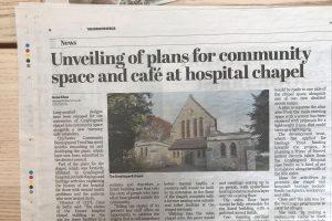 Graylingwell Chapel press clip