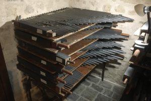 Organ reassembly in Jugon, France