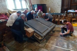 Organ reassembly in France