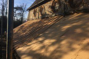 Raising the roof of Graylingwell Chapel